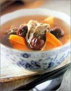 南瓜大枣排骨汤图片