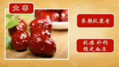 20130128天天养生视频和笔记:张晔讲红枣,抗癌,稳定血压,补钙