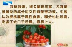 20130816饮食养生汇视频和笔记:张晔讲樱桃,车厘子,杨梅,维生素