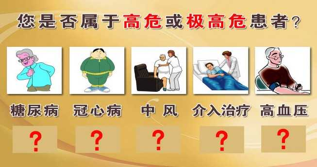 你是否属于高血脂高危患者图片