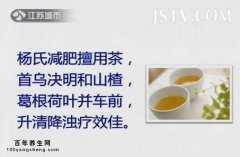 20140722万家灯火视频和笔记:杨增良讲杨氏减肥茶,痰湿阻滞减肥方