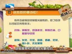 20150618饮食养生汇视频和笔记:朱学骏,日光性皮炎,红烧狮子头