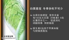 20151125家政女皇视频和笔记:冯双庆,大白菜的营养价值,珊瑚白菜