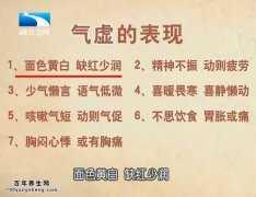 20160108饮食养生汇视频和笔记:刘兴志,气虚,心脾两虚,肾气不足