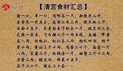 20161010万家灯火视频和笔记:刘剑锋,乾隆皇帝的长寿食谱