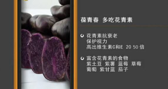 紫土豆的营养价值