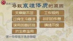 20170102医生开讲视频和笔记:李忠,寒性体质,姜桂红茶枣蜜饮
