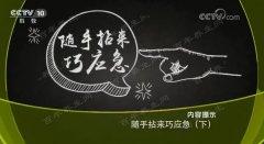 20180109健康之路视频和笔记:常章富,口腔溃疡,痔疮,冻疮,烫伤