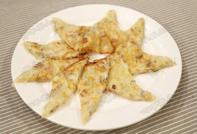 蛤蜊土豆饼