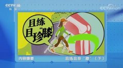 20210609健康之路视频和笔记:赵旻暐,太极拳,跑步,锻炼不伤膝